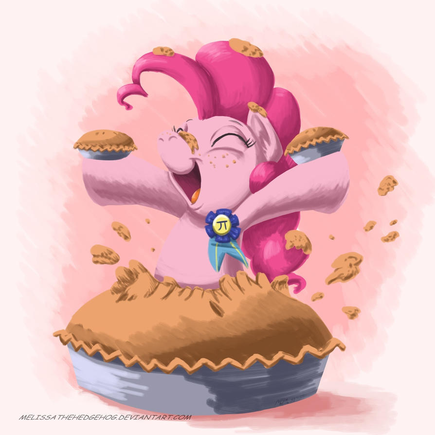 Pi day by MelissaTheHedgehog