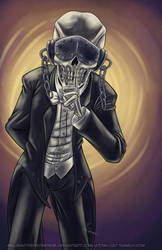 October Skeletons - Vic Rattlehead by MelissaTheHedgehog