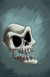 October Skeletons - Murray by MelissaTheHedgehog