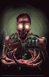 October Skeleton - Giant Skeleton (Kubo) by MelissaTheHedgehog