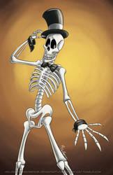 October Skeletons - Skully Pettibone by MelissaTheHedgehog