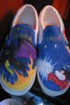 Disney's Fantasmic vans