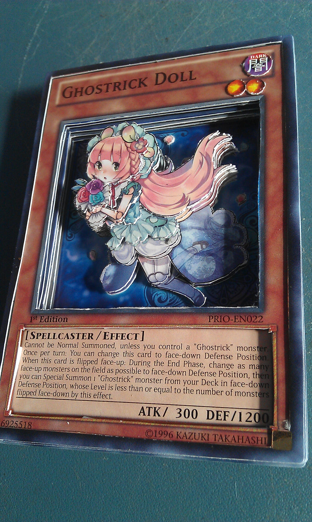 3d yu gi oh card ghostrick doll by ultimate lol on deviantart