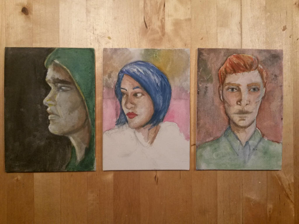 Portraits by Cpt-Marshmallow