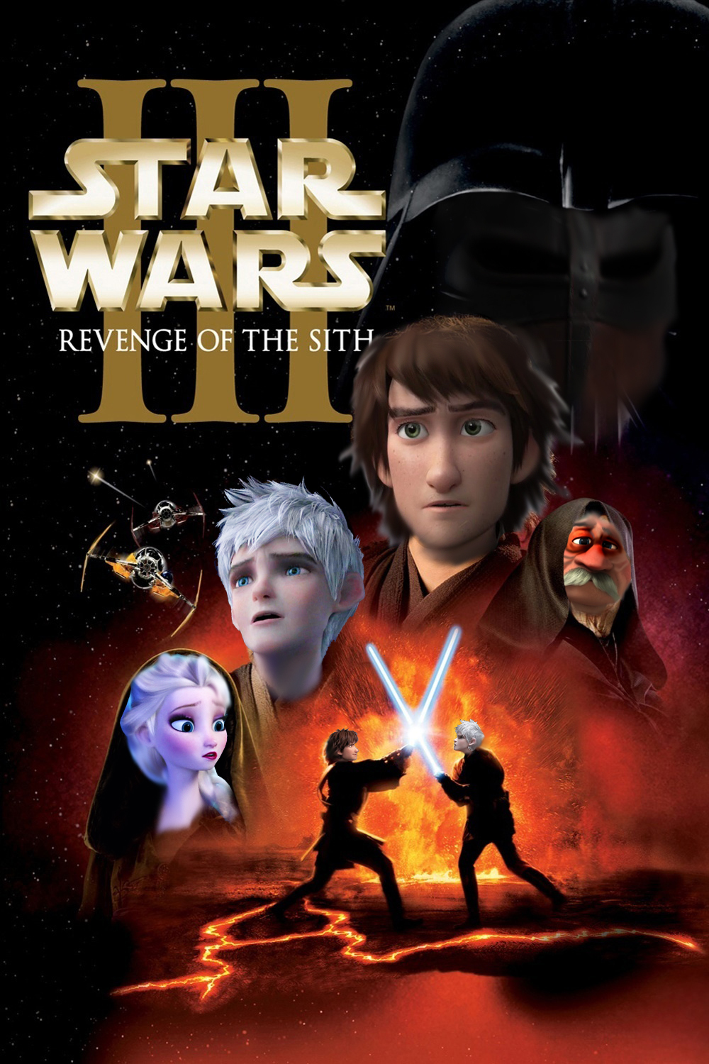 Star Wars Revenge Of The Sith Non Disney By Zoedisney22 On Deviantart