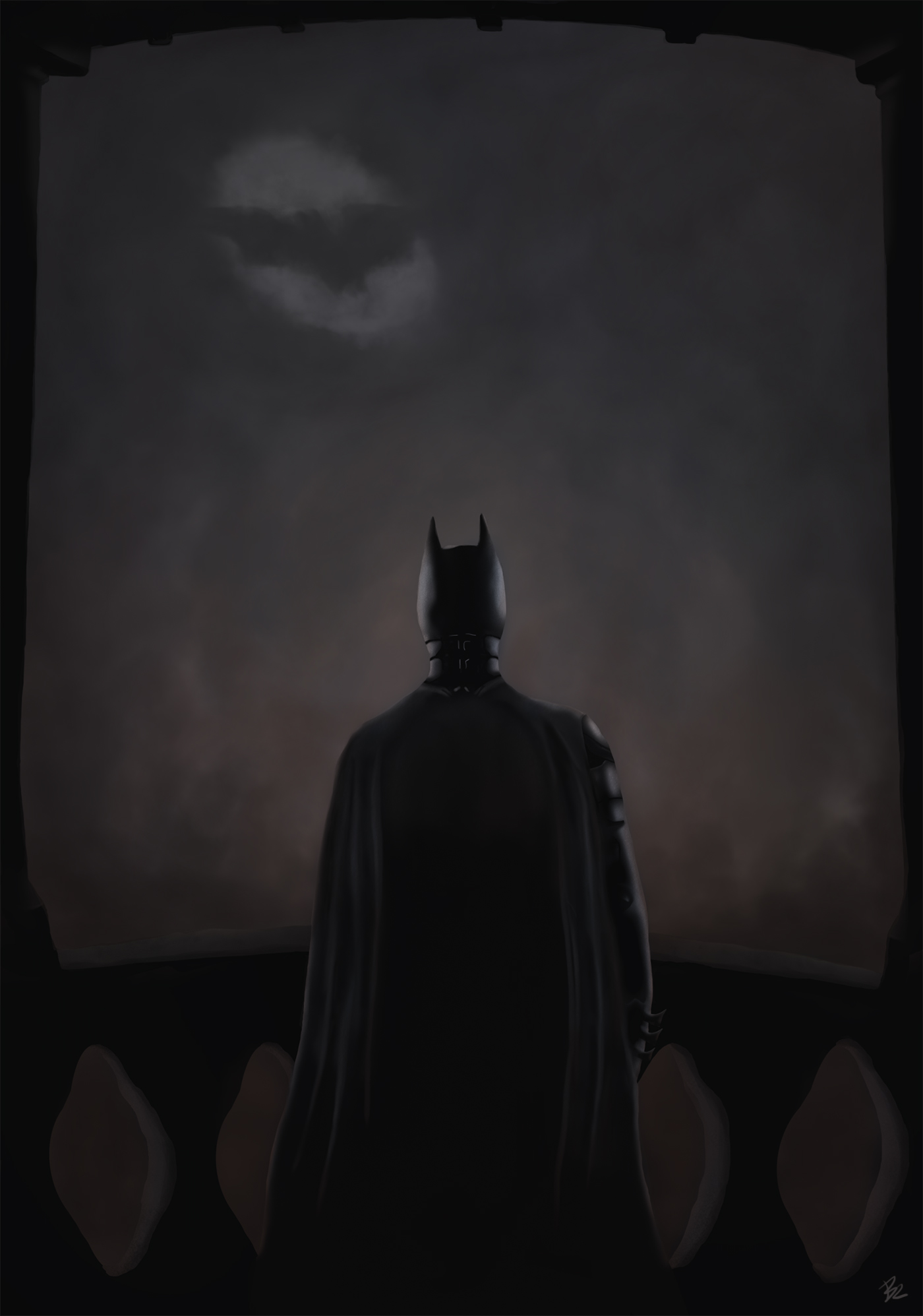 The Dark Knight by brnrdbrk