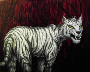 Snarling Tigress