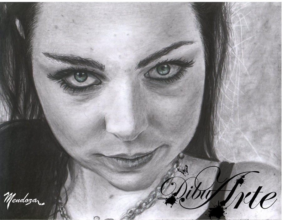 Amy_Lee by AngelMendozaDibujArt