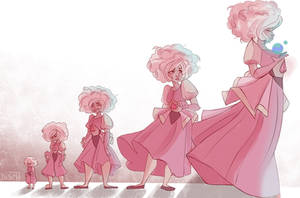 Pink Diamond evolution by DismlDan