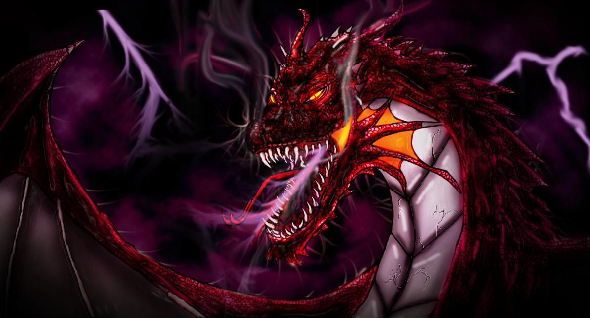Lightning Dragon By Dtmccarson On Deviantart