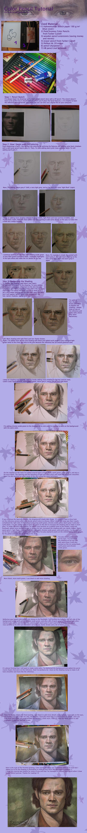 Color Pencil Tutorial by Verlisaerys