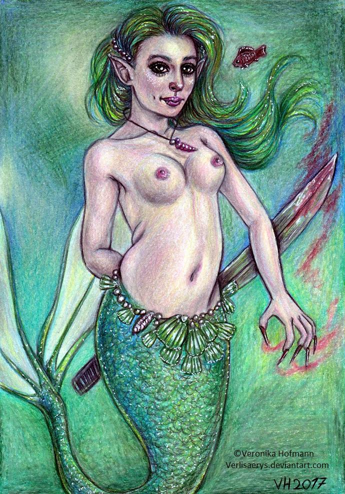 Mermaid by Verlisaerys