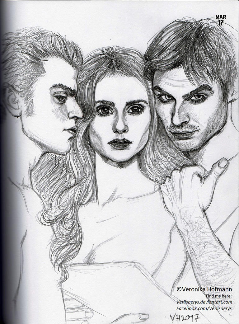 Mar 17 The Vampire Diaries by Verlisaerys