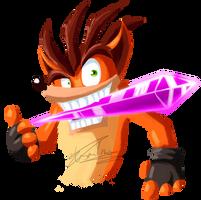 E3 Crash Bandicoot HYPE TRAIN by Lisartino2009