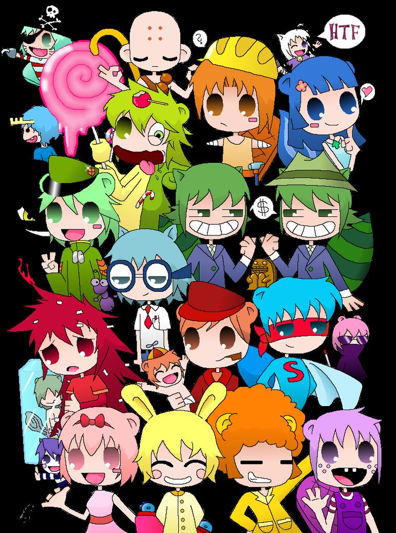My HTF anime-version by YokoKinawa on DeviantArt