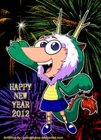 Happy Dragon's Year by YokoKinawa