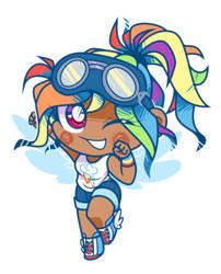 Chibi Rainbow Dash