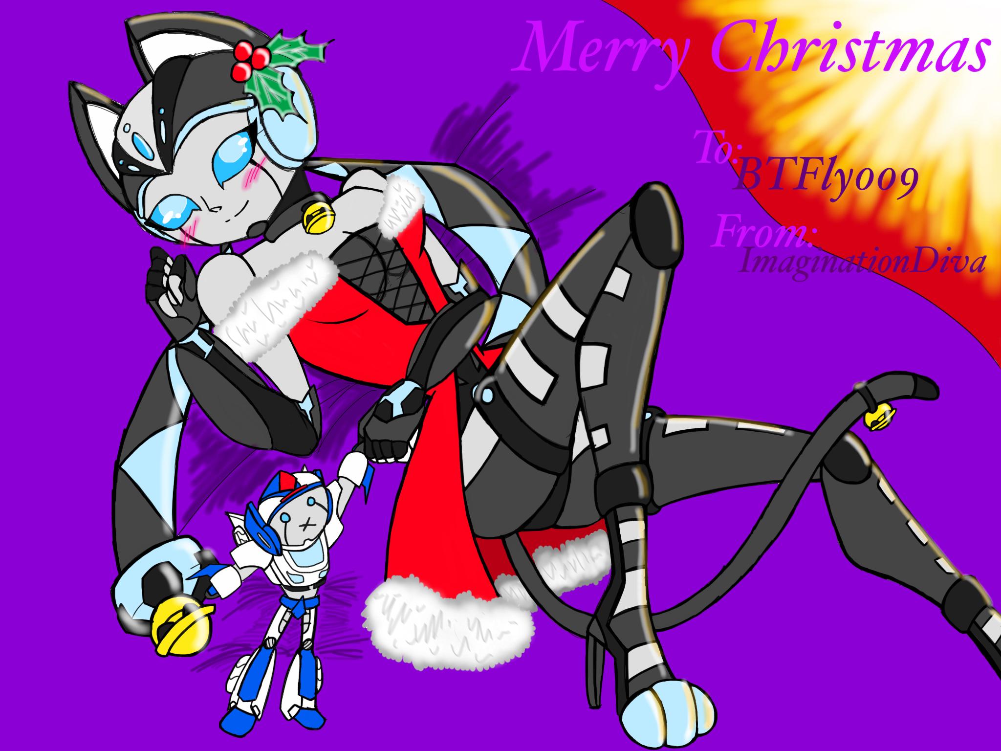 Christmas Present - BTFly009 by ImaginationDiva