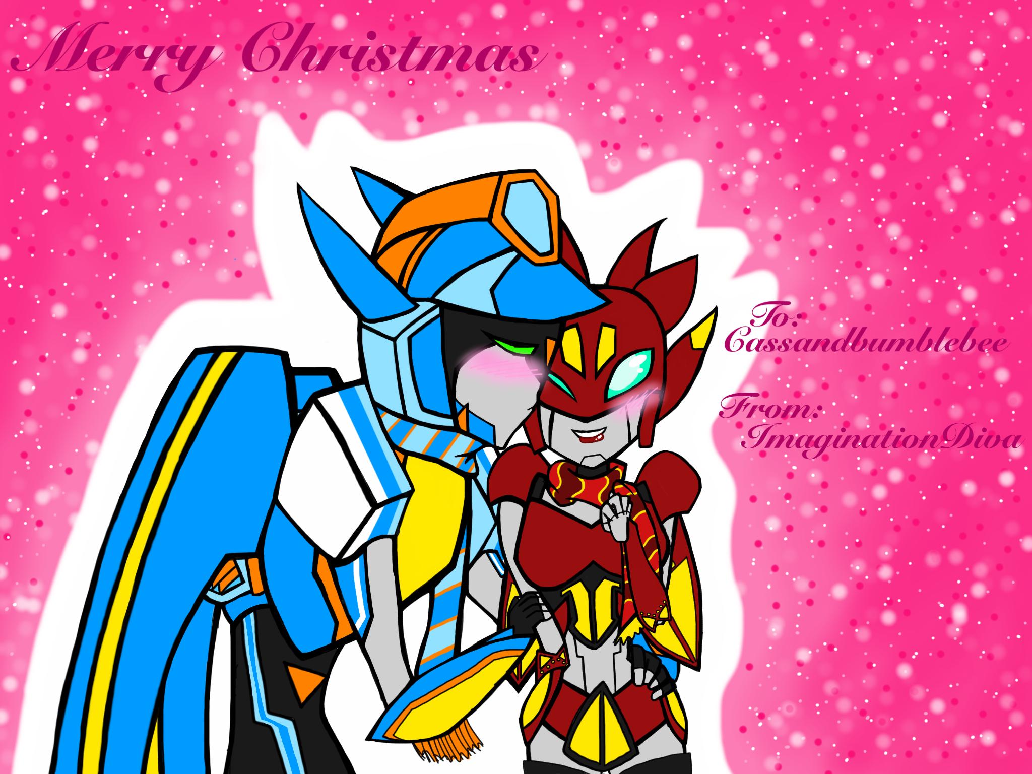 Christmas Present - Cassandbumblebee  by ImaginationDiva