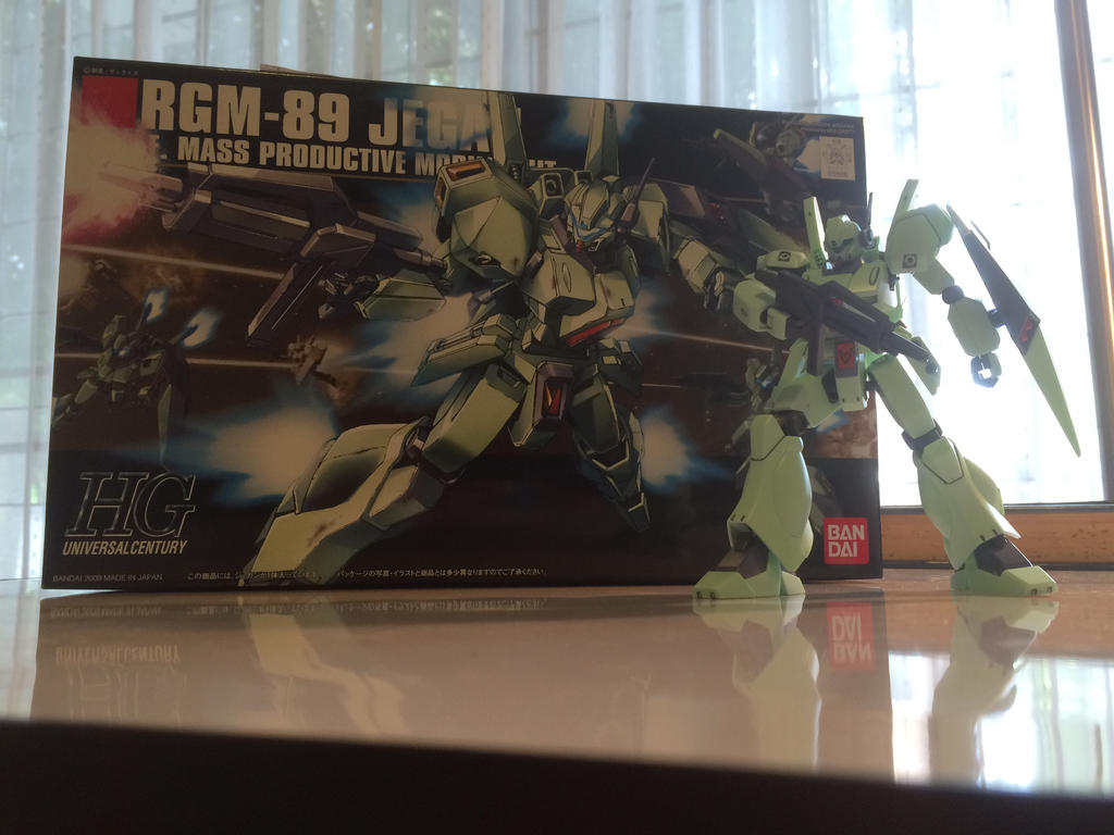RGM-89 Jegan - Completed!! by ImaginationDiva