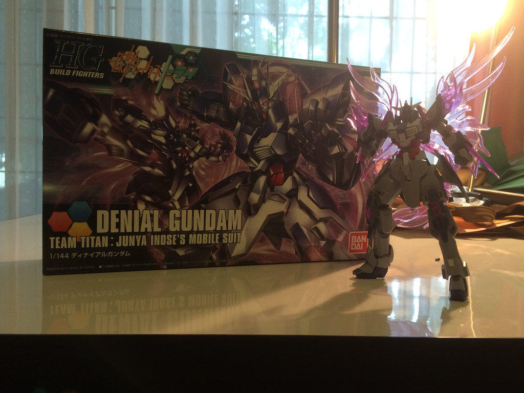 Denial Gundam - Completed!! by ImaginationDiva