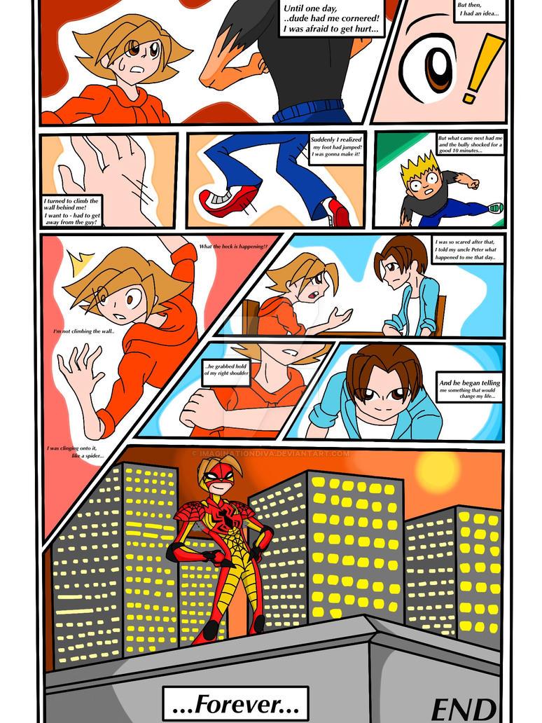 Unpredictable Spider-Boy Origins - Pg.#02 by ImaginationDiva