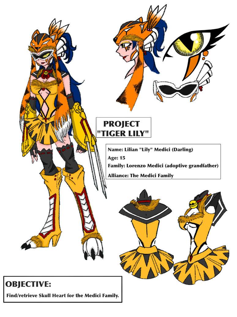 Skullgirls OC - Tiger Lily by ImaginationDiva