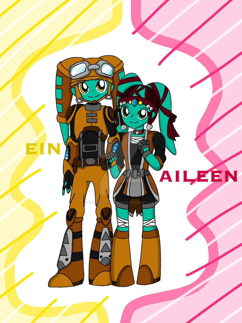 Star Wars OC - The Twins by ImaginationDiva