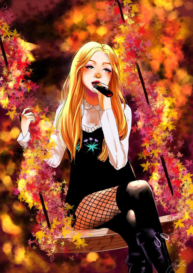 Rose - blackpink by BraveCatt