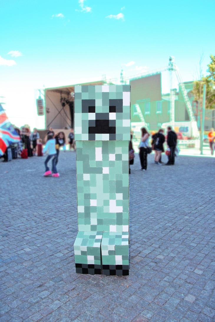 Minecraft cosplay - Creeper by N3kosann on DeviantArt