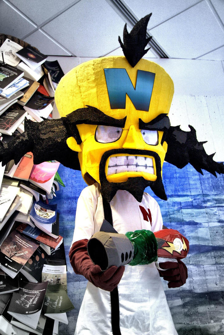 Crash Bandicoot  _ Dr. Neo Cortex Cosplay by N3kosann