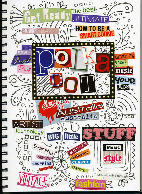typography collage by ashlea88 on deviantart