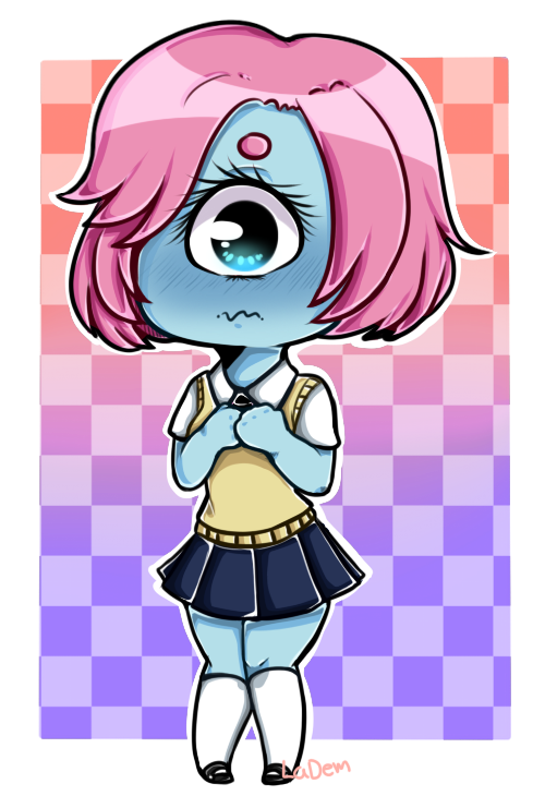 Ciclope Chibi by IkkiIirie01