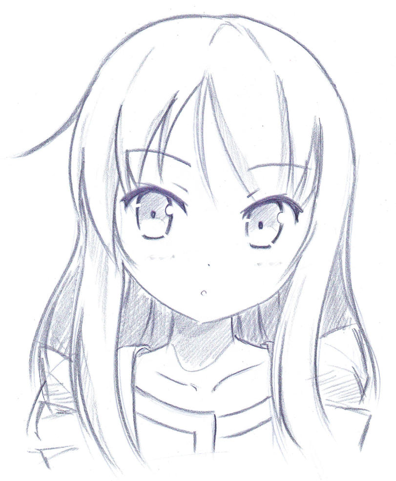 Sakurasou sketching by khai90 on deviantart - Dessiner fille manga ...