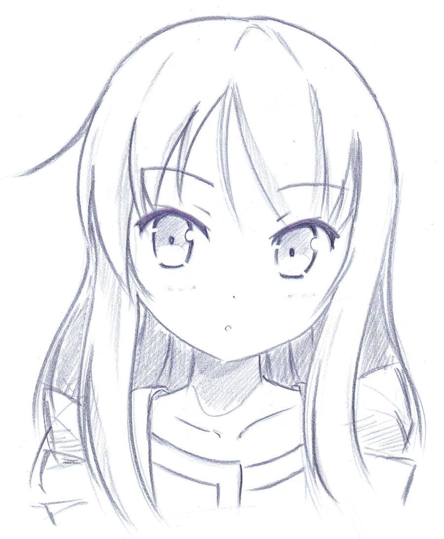Sakurasou sketching by khai90 on deviantart - Manga dessiner ...