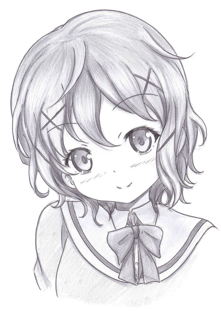 Anime Drawings In Pencil Pictures To Pin On Pinterest