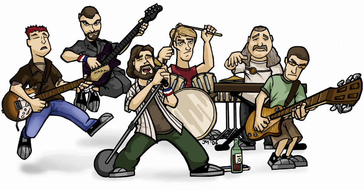Pearl Jam by JayToTheWorld