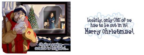 2008 Christmas Card by JayToTheWorld