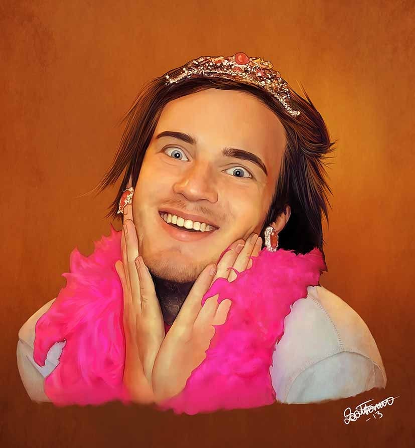 pewds is fabulous by - photo #24