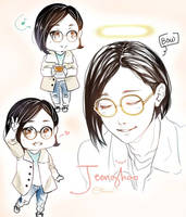 JEONGHAN - SPECTACLE ATTACK by OtakumiArt