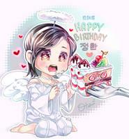 HAPPY BIRTHDAY ANGEL-HAN by OtakumiArt