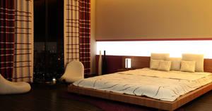 Night Bedroom by Flavius-C
