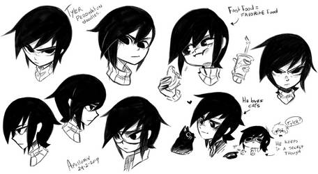 Tyler Doodles by Apollumix