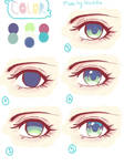 Simple Eye Coloring Tutorial