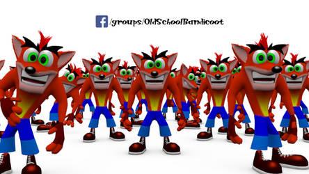 100 FB Bandicoots