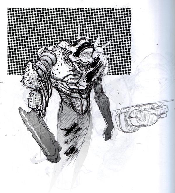 Mech Monster toned by JHarren