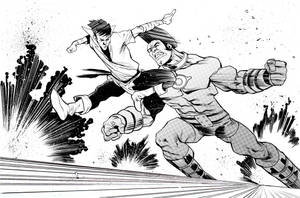 OMAC vs. Karate Kid