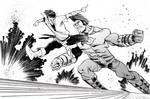 OMAC vs. Karate Kid