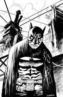 Batman Paul Popeish by JHarren