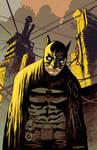 Batman Paul Popeish color